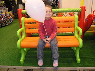 Кристина любит воздушные шарики
