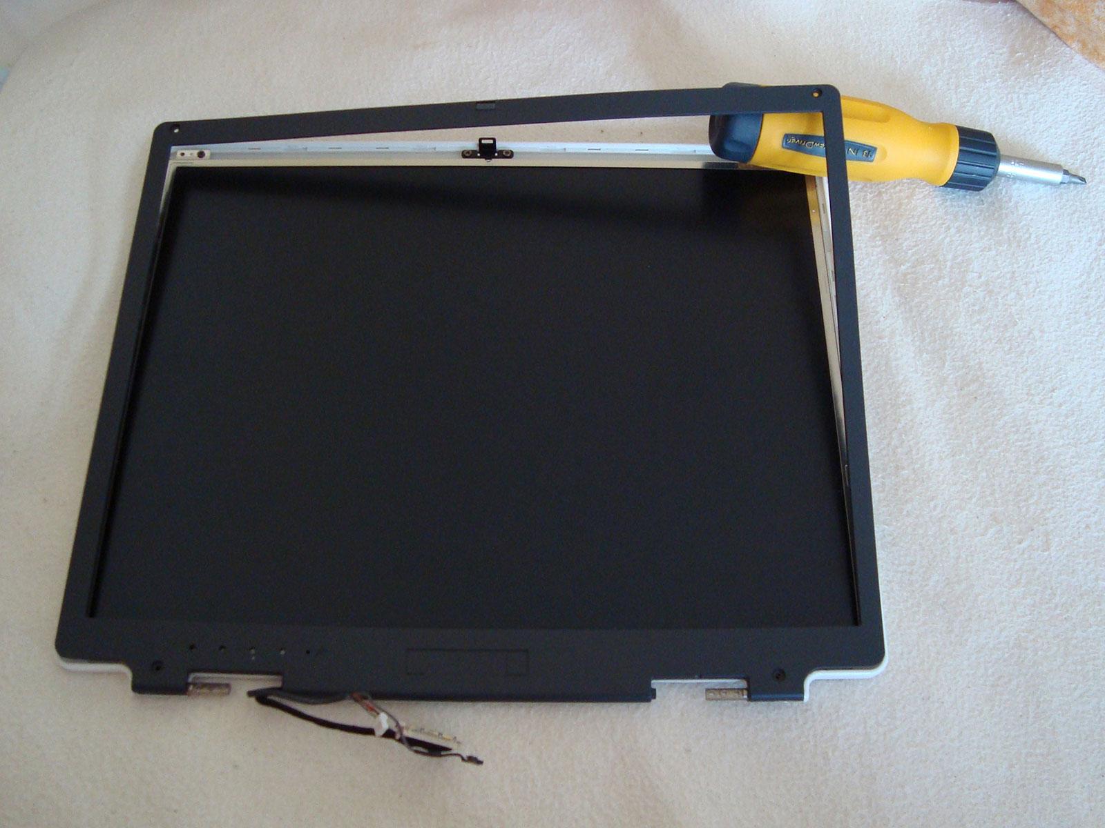Замена матрицы ноутбука своими руками фото